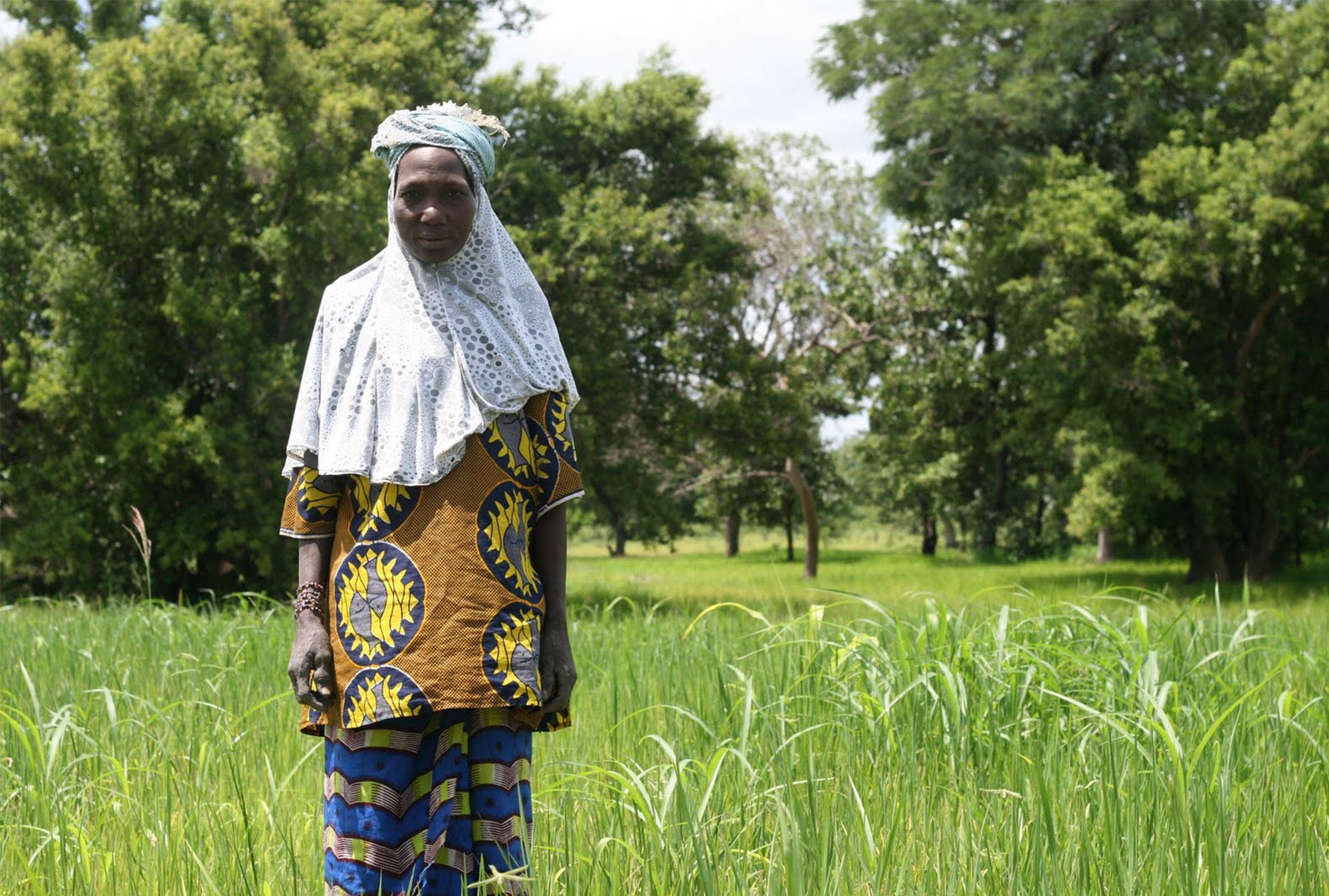 A farmer in Mali