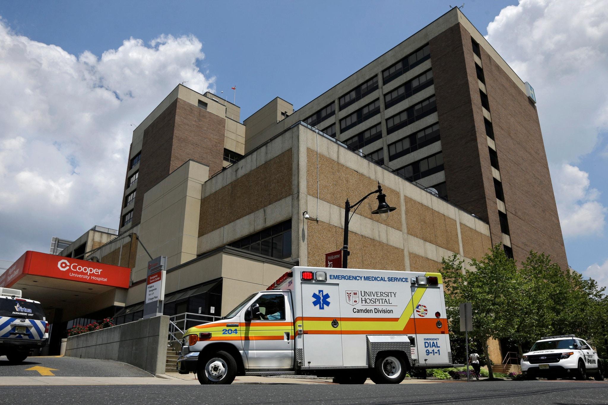 Cooper University Hospital in Camden, New Jersey