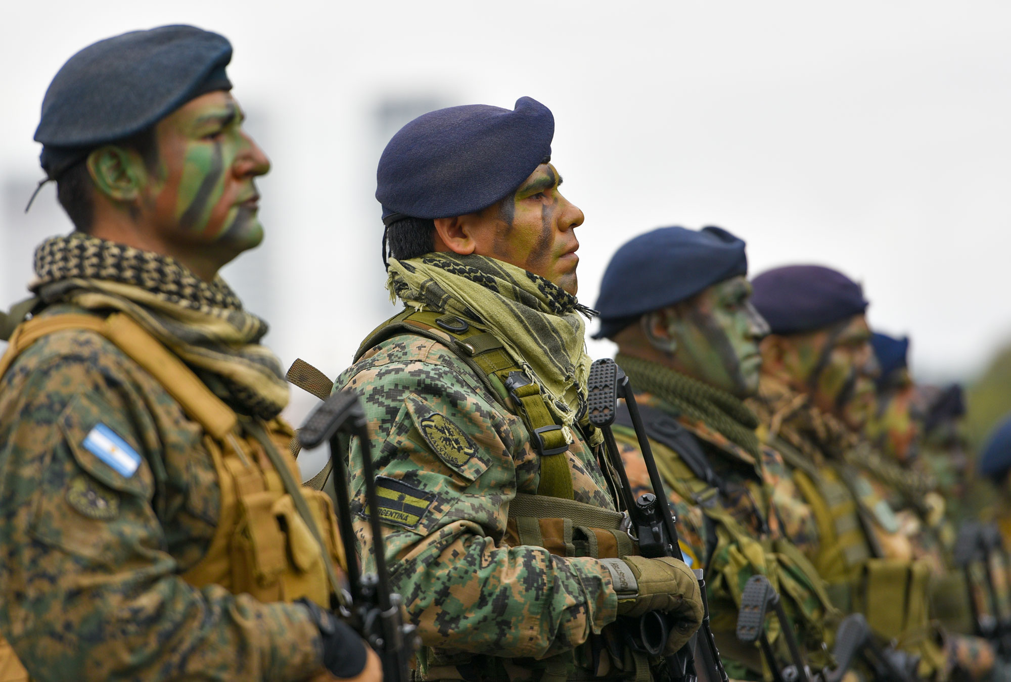 Military officers in Argentina
