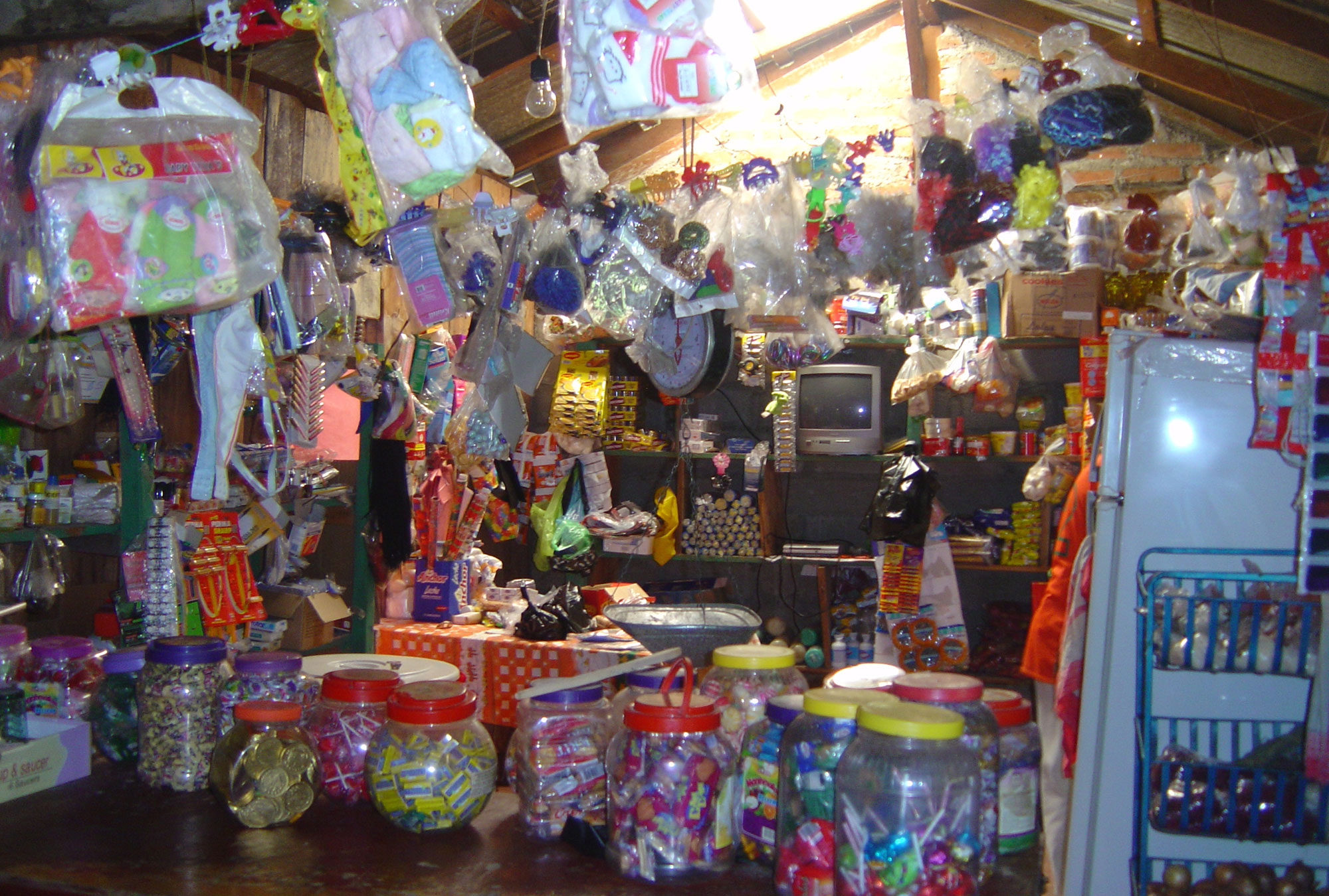 A family shop in Nicaragua.