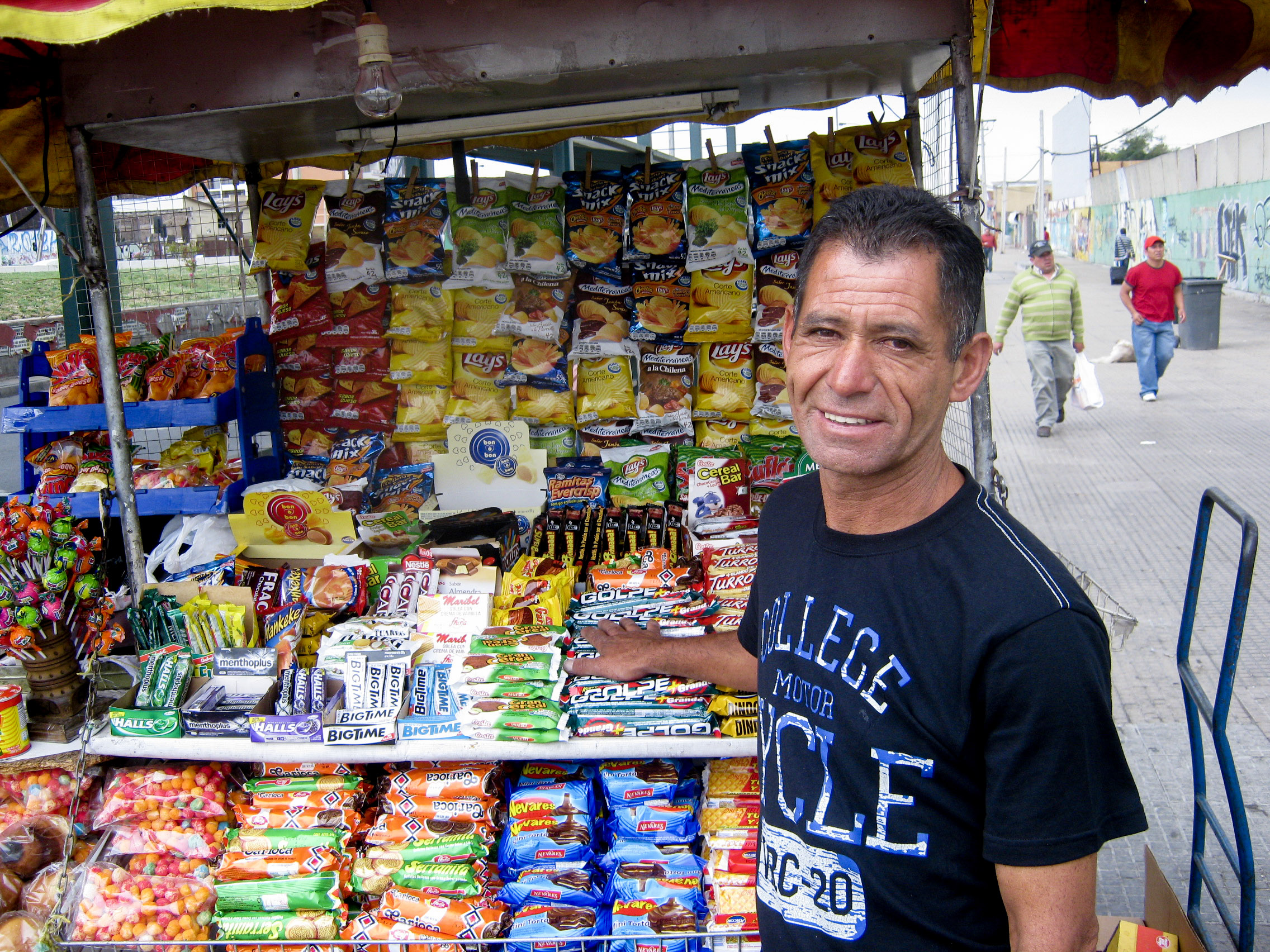 Street vendor in Chile selected for MEPS program