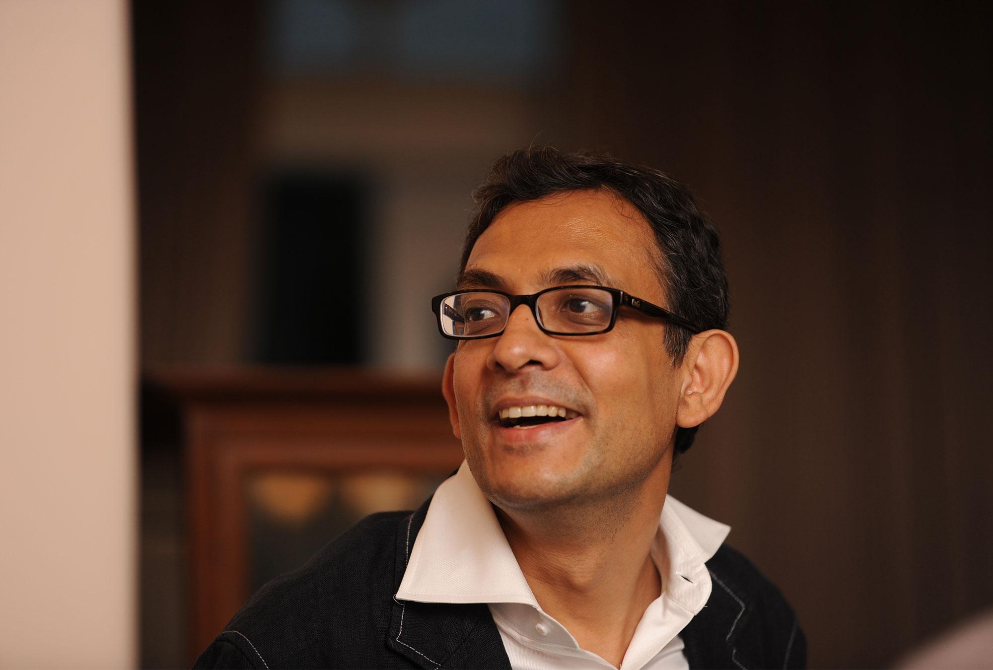 Abhijit Banerjee headshot