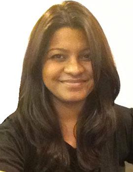Headshot of Janani Akhilandeshwari