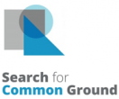 Search for Common Ground logo with overlapping shapes