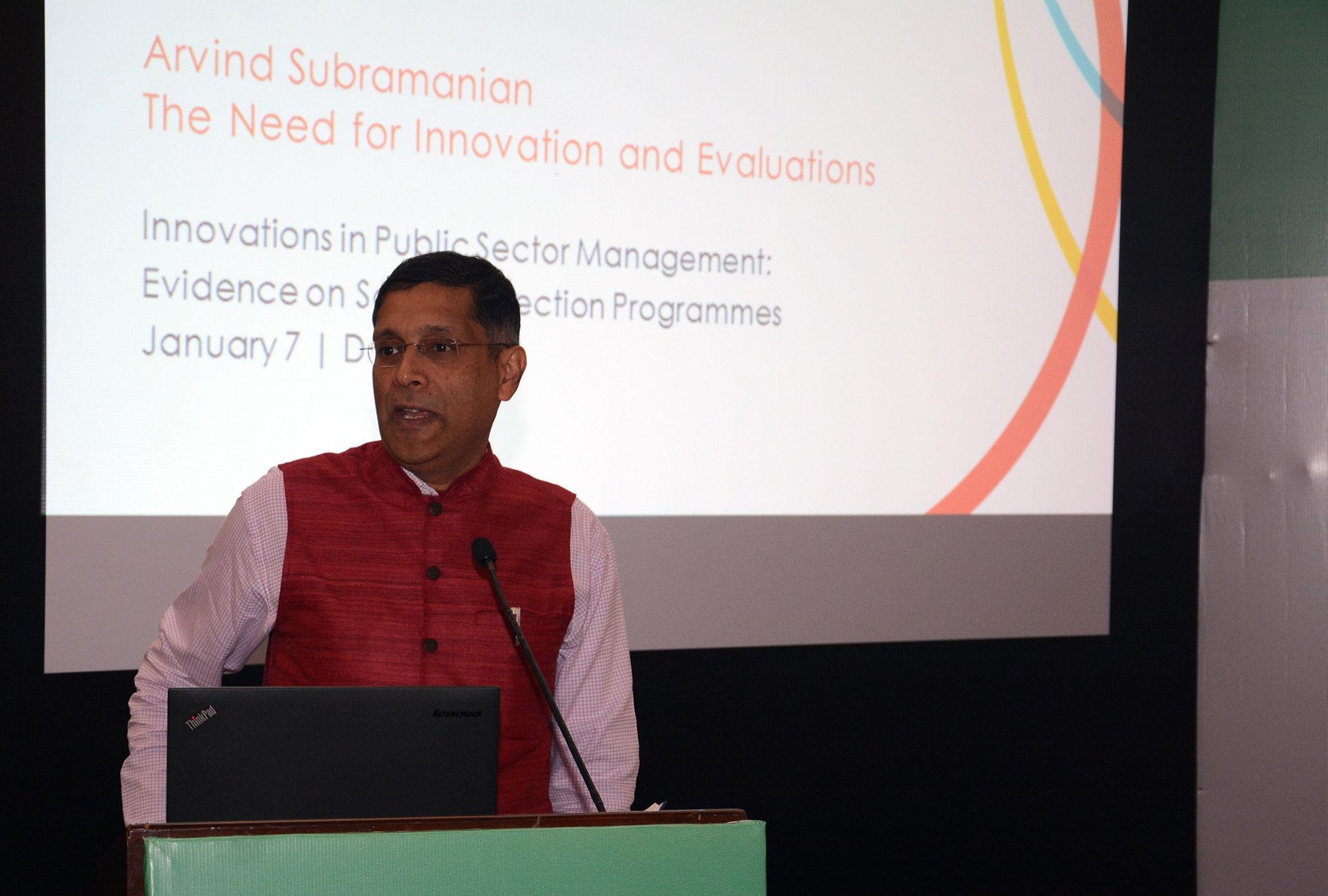 Arvind Subramanian, India's Chief Economic Adviser