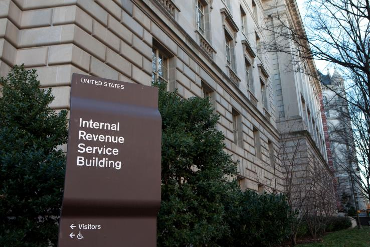 Internal Revenue Service building in the United States