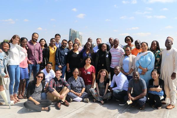 Photo of the TaRL Africa Community in Botswana in 2019.