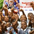 Kenya's National School-Based Deworming Programme rolls out in Kwale province, Kenya.