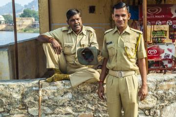 Indian police officers
